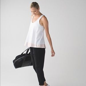 Lululemon All Tied Up Tank in Rose Gold